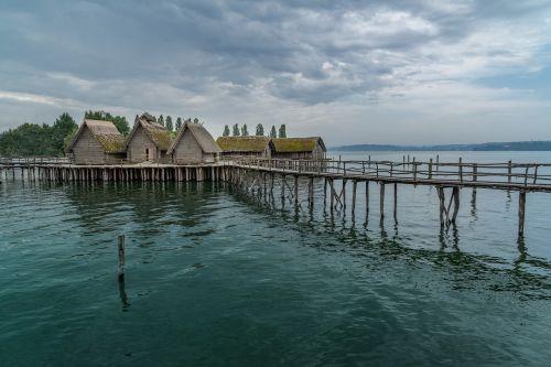 stilt houses lake constance unteruhldingen