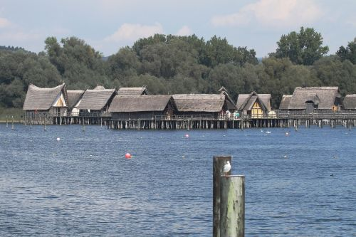 stilt houses lake constance stilt buildings