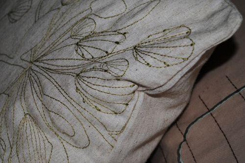 Stitched Cushion Background