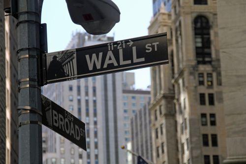 stock exchange wall street business