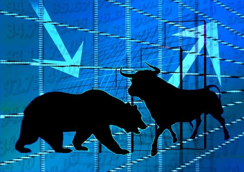 stock exchange bull bear
