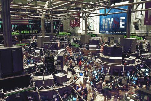 stock exchange trading floor new york