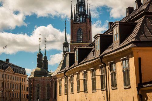 stockholm sweden cityscape