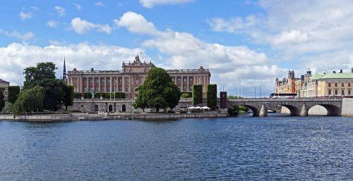 stockholm parliament island reichstag