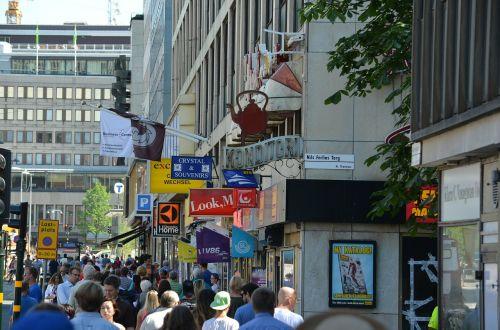 stockholm summer street
