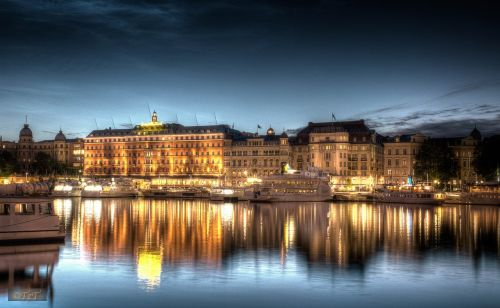 stockholm night shot night