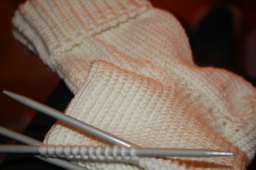 stocking knit wool