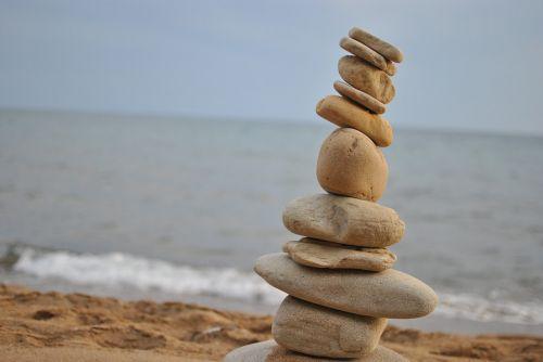 stone beach nature
