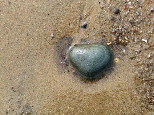 stone beach sand