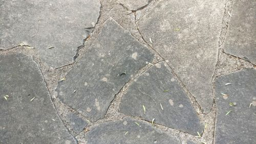 stone floor gray