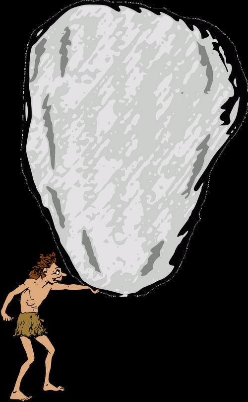 stone rock boulder