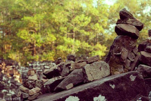 stone heap rock
