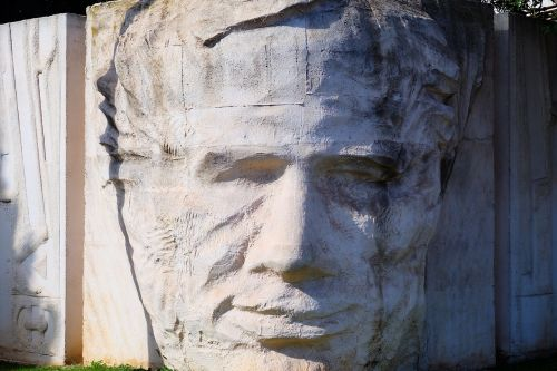 stone face monument