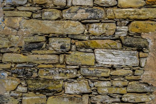 stone wall rough