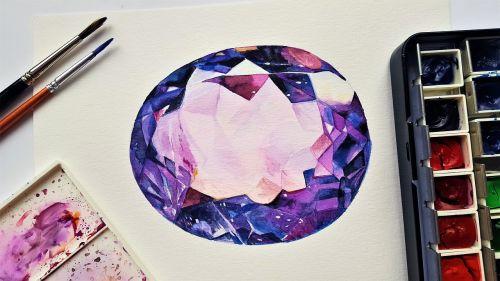 stone gemstone amethyst