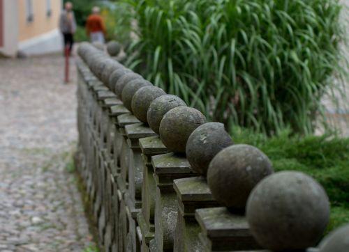 stone railing bridge