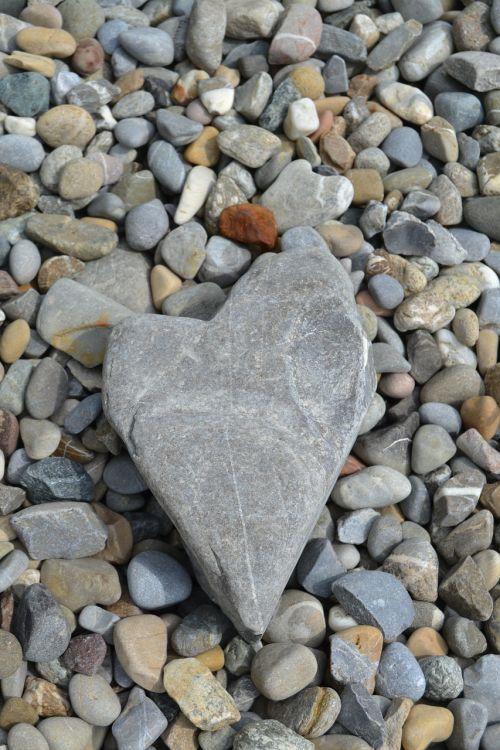 stone heart beach