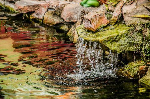 stone water cascade