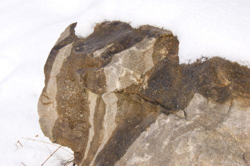 stone water snow