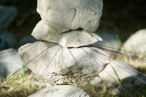 stone sculpture threads