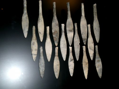 Stone Age Spear Tips