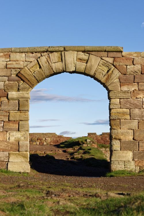 stone archway archway stone
