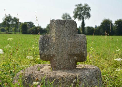 stone cross sculpture religious religion
