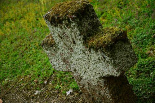 stone cross cross cemetery