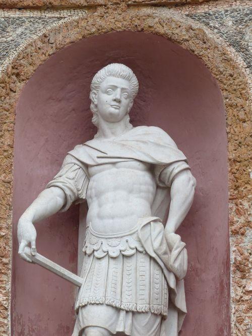 stone figure man human