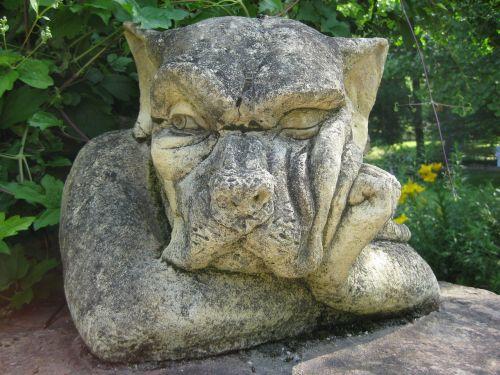 stone figure gnome figure