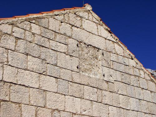 stone house stone wall stone