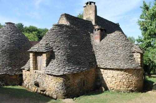 stone huts stones berger