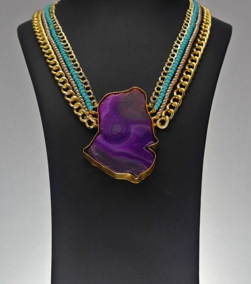 stone jewelry necklace photoshoot