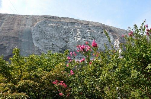 stone mountain georgia  memorial  landmark