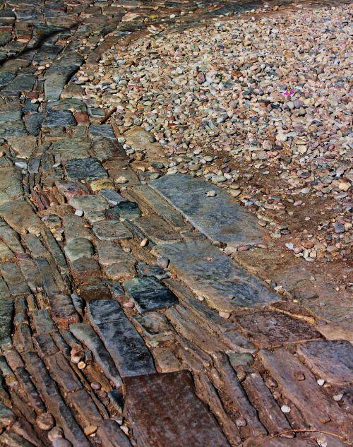 stone path brick path texture