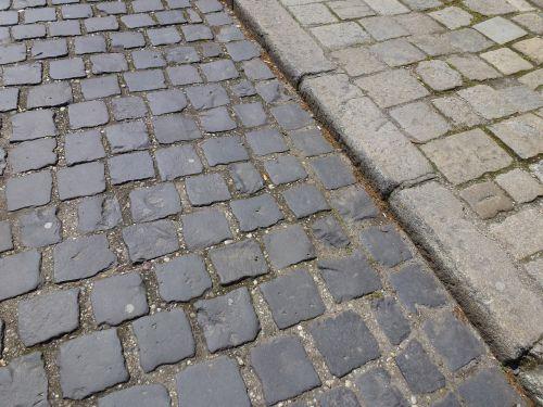 stone paving road stone