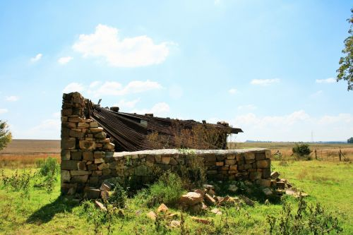 Stone Ruins Of Cattle Stable