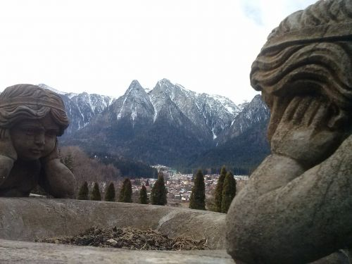 stone sculpture landscape rock