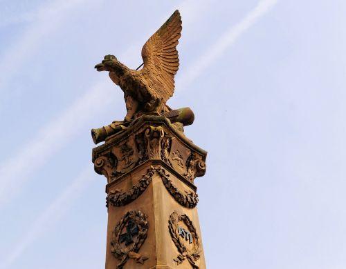 stone statue sculpture adler
