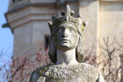 stone statue  sculpture  king