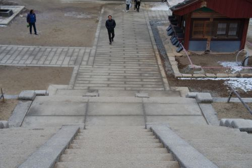 stone steps temples way temple