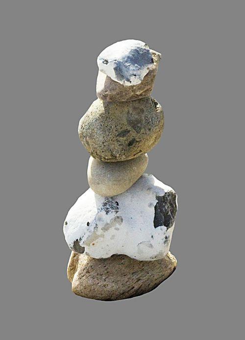 stone tower stones layered