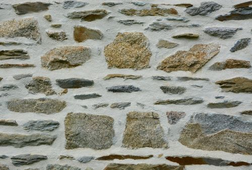 stone wall wall separation architecture