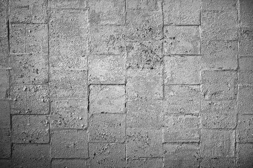 stone wall blocks concrete