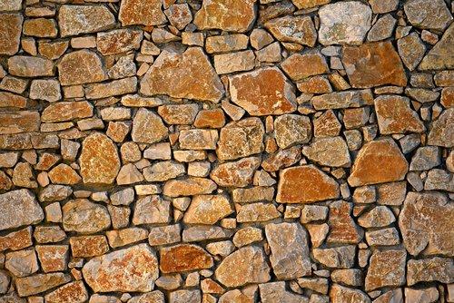 stone wall  masonry  seam