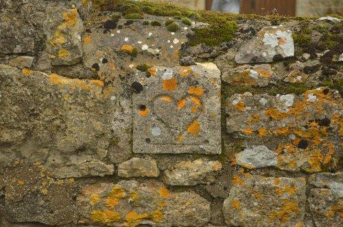 stone wall  engraved heart  heart