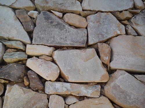 stone wall stones rustic