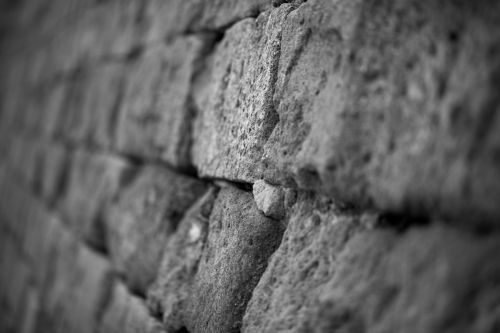 Stone Wall In Angle