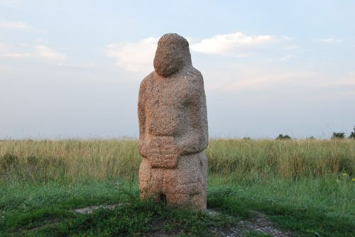 stone woman kursk ancient artifact