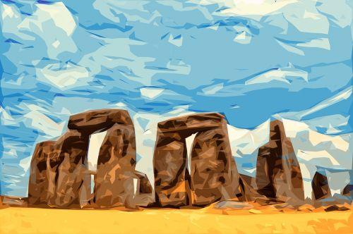 stonehenge megaliths monument